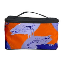 Seagull Gulls Coastal Bird Bird Cosmetic Storage Case by Nexatart
