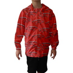 Crocodile Alligator Pattern Hooded Wind Breaker (kids)