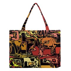 Modern Abstract 47c Medium Tote Bag by MoreColorsinLife
