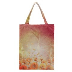 Flower Power, Cherry Blossom Classic Tote Bag by FantasyWorld7