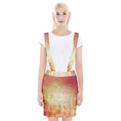 Flower Power, Cherry Blossom Braces Suspender Skirt by FantasyWorld7