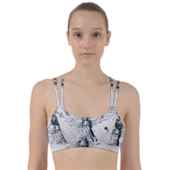 Skull Dance Movement Paint  Line Them Up Sports Bra