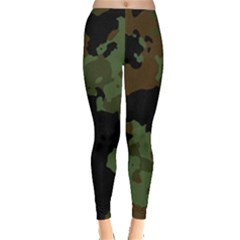 Military Background Texture Surface  Leggings  by amphoto