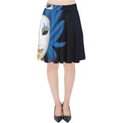 Mask Fan Hair Wig Image  Velvet High Waist Skirt by amphoto