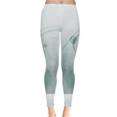 Gray Points Curves Patches Vector Minimalism  Leggings  by amphoto