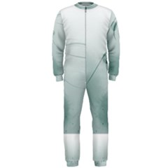 Gray Points Curves Patches Vector Minimalism  Onepiece Jumpsuit (men)  by amphoto