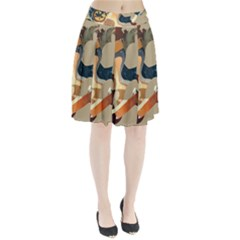 Dr Hooves Stream Pleated Skirt by amphoto