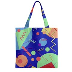 Memphis #42 Grocery Tote Bag by RockettGraphics