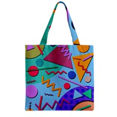 Memphis #10 Grocery Tote Bag by RockettGraphics