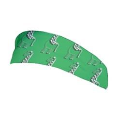 Giraffe Pattern Wallpaper Vector Stretchable Headband