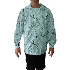 Pattern Medicine Seamless Medical Hooded Wind Breaker (kids)