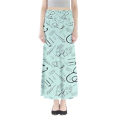 Pattern Medicine Seamless Medical Full Length Maxi Skirt