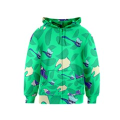 Pattern Seamless Background Desktop Kids  Zipper Hoodie