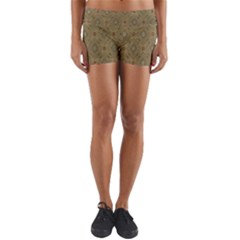 P¨|cs Hungary City Five Churches Yoga Shorts