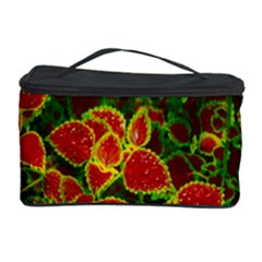 Flower Red Nature Garden Natural Cosmetic Storage Case by Nexatart