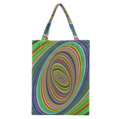 Ellipse Background Elliptical Classic Tote Bag