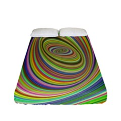 Ellipse Background Elliptical Fitted Sheet (Full/ Double Size)