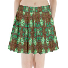 Art Design Template Decoration Pleated Mini Skirt
