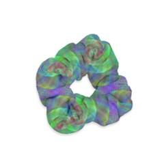 Fractal Spiral Swirl Pattern Velvet Scrunchie