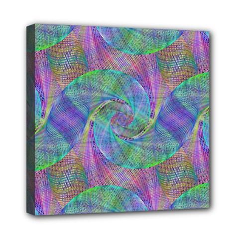 Spiral Pattern Swirl Pattern Mini Canvas 8  X 8