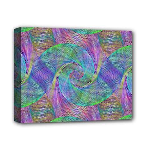Spiral Pattern Swirl Pattern Deluxe Canvas 14  x 11