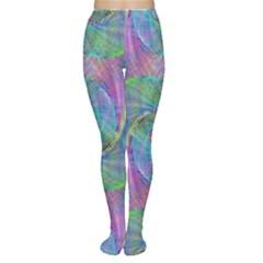 Spiral Pattern Swirl Pattern Women s Tights