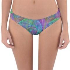 Spiral Pattern Swirl Pattern Reversible Hipster Bikini Bottoms