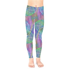 Spiral Pattern Swirl Pattern Kids  Legging by Nexatart