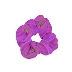 Pink Abstract Background Curl Velvet Scrunchie