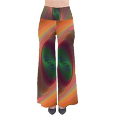 Ellipse Fractal Orange Background Pants