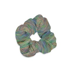 Spiral Spin Background Artwork Velvet Scrunchie