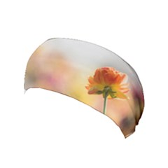 Single Flower Photo Yoga Headband by amphoto