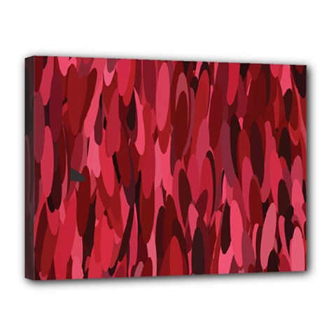 Abstract 3 Canvas 16  X 12  by tarastyle