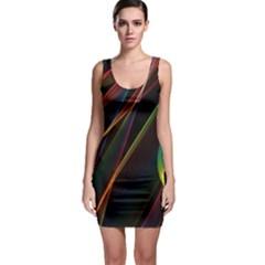 Rainbow Ribbons Bodycon Dress