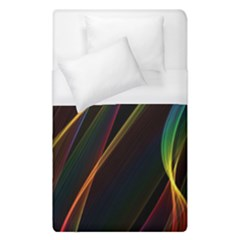 Rainbow Ribbons Duvet Cover (single Size)