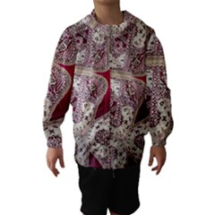 Morocco Motif Pattern Travel Hooded Wind Breaker (kids)