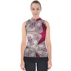 Morocco Motif Pattern Travel Shell Top