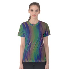 Texture Abstract Background Women s Cotton Tee