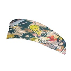 Art Graffiti Abstract Vintage Stretchable Headband