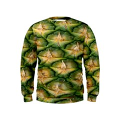 Pineapple Pattern Kids  Sweatshirt