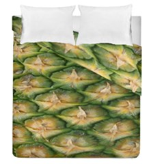 Pineapple Pattern Duvet Cover Double Side (queen Size)