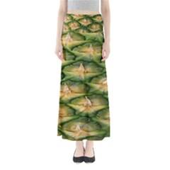 Pineapple Pattern Full Length Maxi Skirt