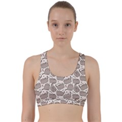 Pusheen Wallpaper Computer Everyday Cute Pusheen Back Weave Sports Bra