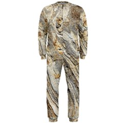 Background Structure Abstract Grain Marble Texture Onepiece Jumpsuit (men)