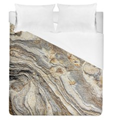 Background Structure Abstract Grain Marble Texture Duvet Cover (queen Size)