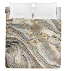 Background Structure Abstract Grain Marble Texture Duvet Cover Double Side (queen Size)
