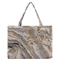 Background Structure Abstract Grain Marble Texture Zipper Medium Tote Bag