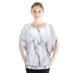 Marble Granite Pattern And Texture Blouse