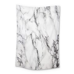 Marble Granite Pattern And Texture Small Tapestry by Nexatart