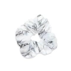 Marble Granite Pattern And Texture Velvet Scrunchie